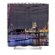 Westminster - London Shower Curtain