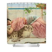 When The Heart Is Young Shower Curtain