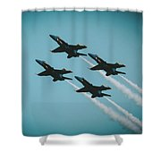 4 X4 Angels Shower Curtain