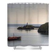 Ynys Llanddwyn - Wales Shower Curtain