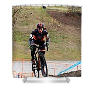 Fearless Femme Racing Shower Curtain
