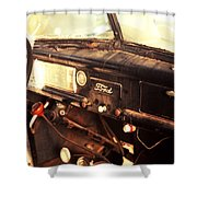 40 Ford Shower Curtain