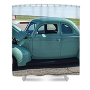 40 Ford Deluxe Shower Curtain