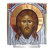 Jesus Christ Lord Savior Shower Curtain