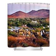 Landscape D Cc Shower Curtain
