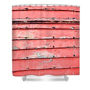 Weathered Wood Shower Curtain