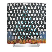 40 Years Reconciliation Shower Curtain