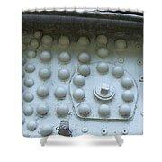 4004 Rivets Shower Curtain