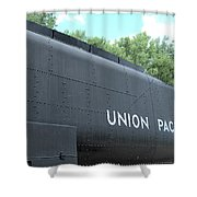 4004 Water Car Shower Curtain