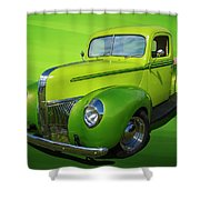 40s Ford Pickup Shower Curtain