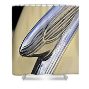 40s Hudson Chrome Shower Curtain