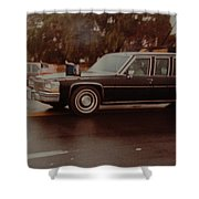 40th In Valley Stream New York Shower Curtain