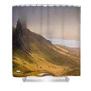 C L Landscape Shower Curtain