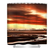 Country Landscapes Shower Curtain