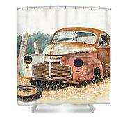 '41 Fleetline Shower Curtain