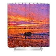 Landscape D Cc Shower Curtain