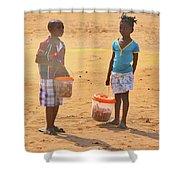 Mozambique Shower Curtain