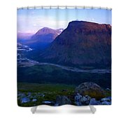 P C Landscape Shower Curtain