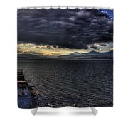 41 South Sandpoint Shower Curtain