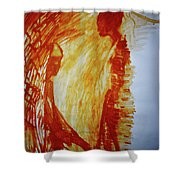 The Annunciation Shower Curtain