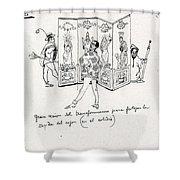 41601 Carlos Saenz De Tejada Shower Curtain