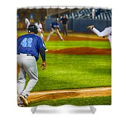 42 Coming Home Shower Curtain