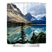J C Landscape Shower Curtain