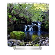 Paintings Of Landscapes Shower Curtain