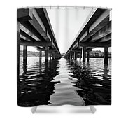 422 Bridge Shower Curtain