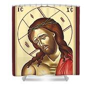 Jesus Christ Lord Savior Shower Curtain