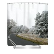 Landscape Wall Art Shower Curtain