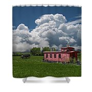 4355 Shower Curtain