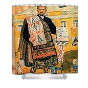 43770 Boris Kustodiev Shower Curtain
