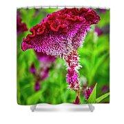4390- Flower Shower Curtain