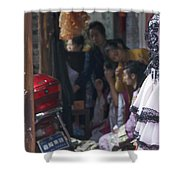4398- Dress Up Shower Curtain