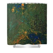 43dfp Nebula Shower Curtain
