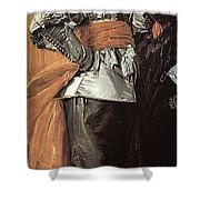 43meagr3 Frans Hals Shower Curtain