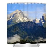 9 Landscape Shower Curtain