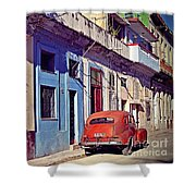 Havana Cuba Shower Curtain