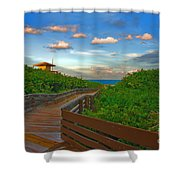 44- Ocean Reef Park Singer Island Shower Curtain