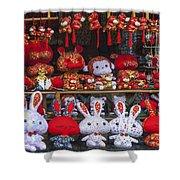 4420- Souvenir Shop Shower Curtain