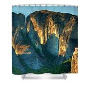 At Landscape Shower Curtain