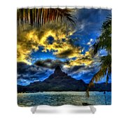 Landscape Light Shower Curtain