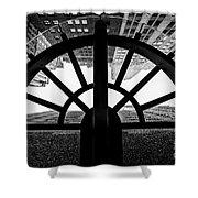 45 Wall Street, Lower Manhattan New York Shower Curtain