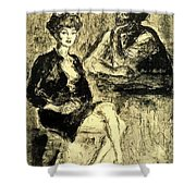45167 Arturo Souto Shower Curtain
