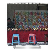 4520- Shooting Gallery Shower Curtain