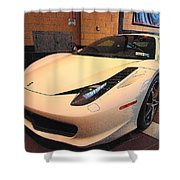 458 Italia Shower Curtain