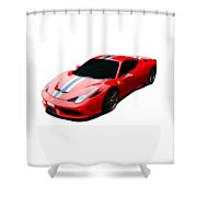458 Speciale Shower Curtain