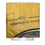 4582- Decal Shower Curtain