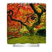 Art Of Landscape Shower Curtain
